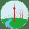 Logo Tcm am Rhein für Akupunktur Düsseldorf